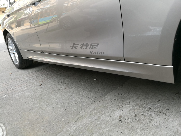成都宝马320改装双边排气管M运动版包围高清图片